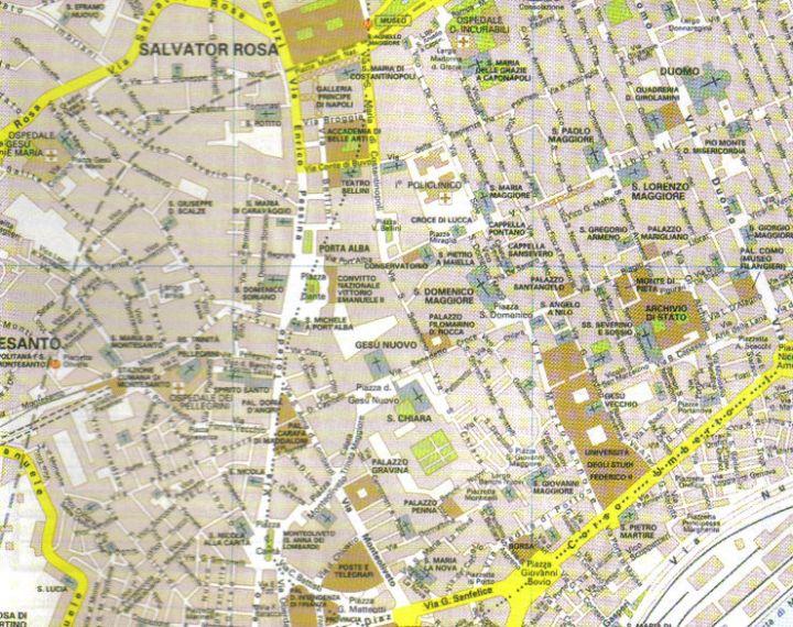 Cartina Napoli Centro Storico.Conosciamonapoli It Napoli Storia E Tradizione In Sintesi