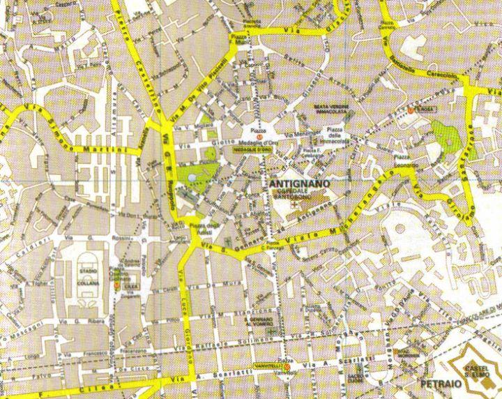 Cartina Vomero Napoli.Conosciamonapoli It Napoli Storia E Tradizione In Sintesi Vomero